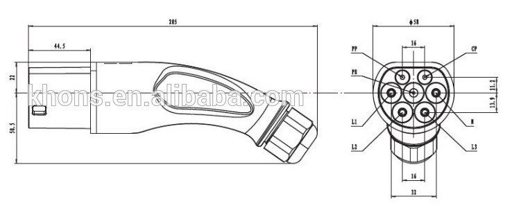 extensor de tallo de neum/ático de aire bicicleta Adaptador de extensi/ón de v/álvula de neum/ático de 140 mm de lat/ón orificio de inflado para motocicleta mower y scooter